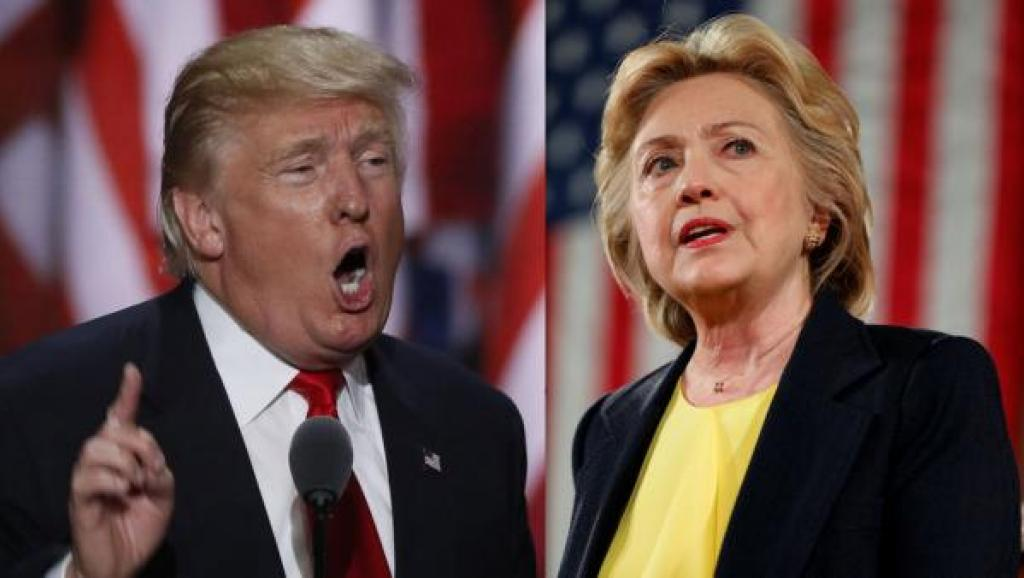 Hillary Clinton est désormais en tête dans la plupart des sondages, le 19 octobre 2016.