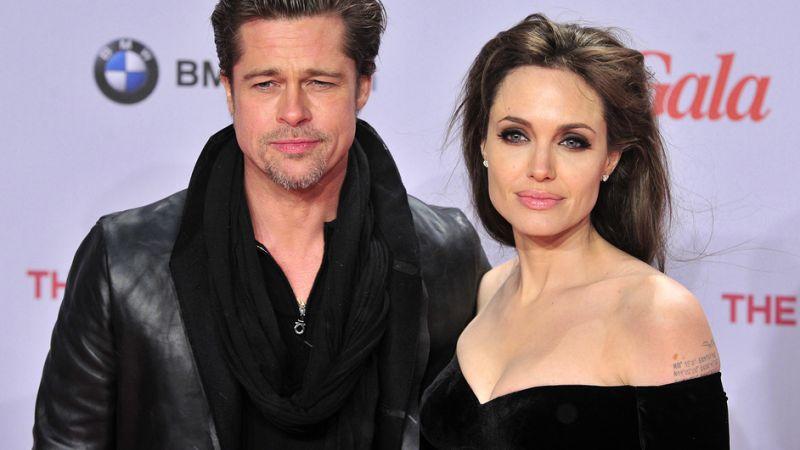 Brad Pitt et Angélina Jolie
