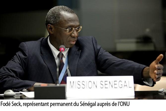 Monsieur  Fodé Seck, représentant permanent du Sénégal auprès des Nations Unies : « le multilinguisme constitue une valeur fondamentale des Nations Unies… »