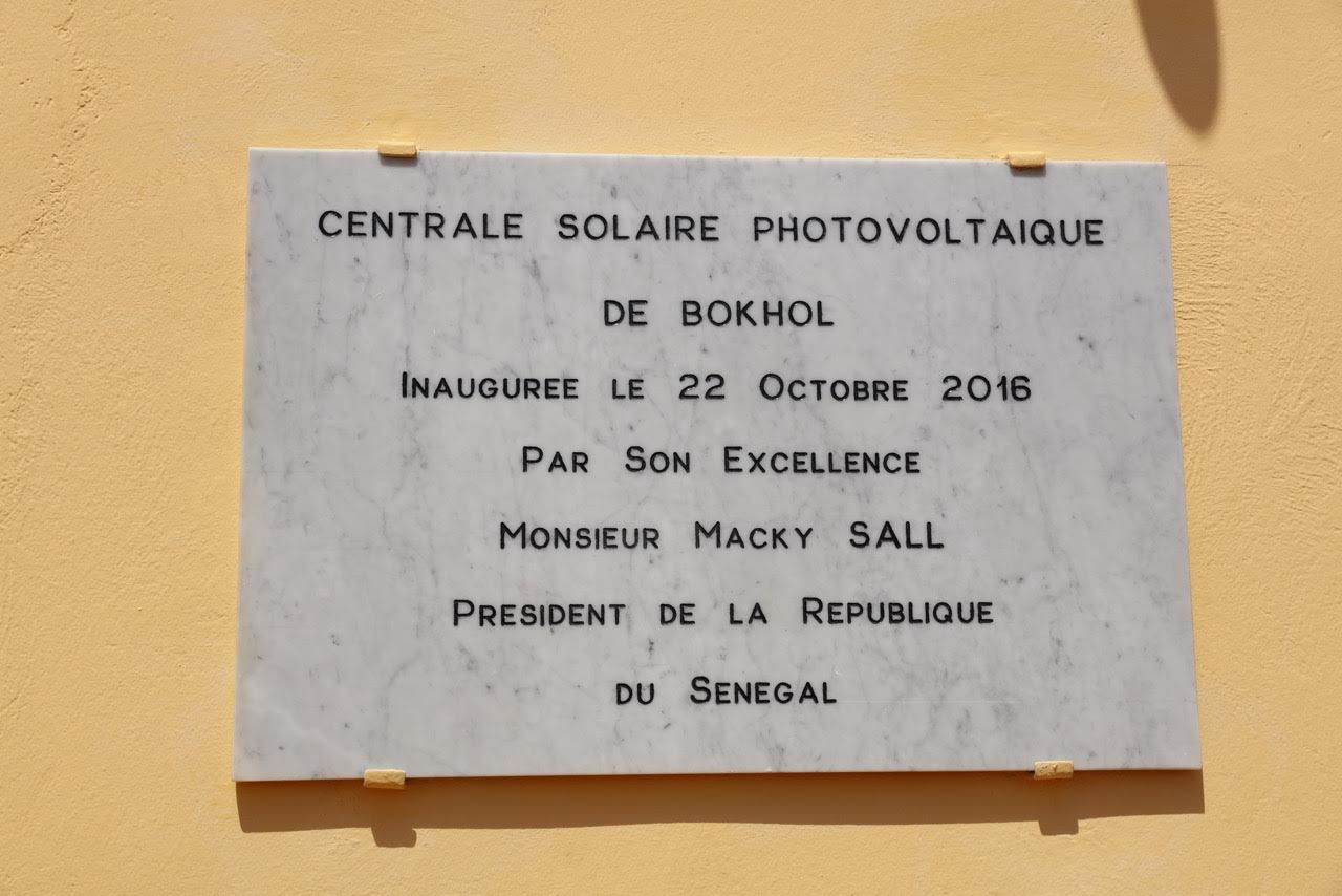 Centrale solaire photovoltaïque de Bokhol : Macky Sall trouve solution à  18 000 ménages.