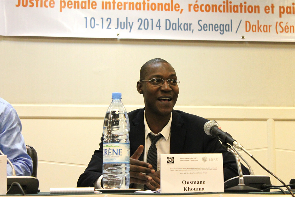 Ousmane Khouma, professeur à l'Université Cheikh Anta Diop.