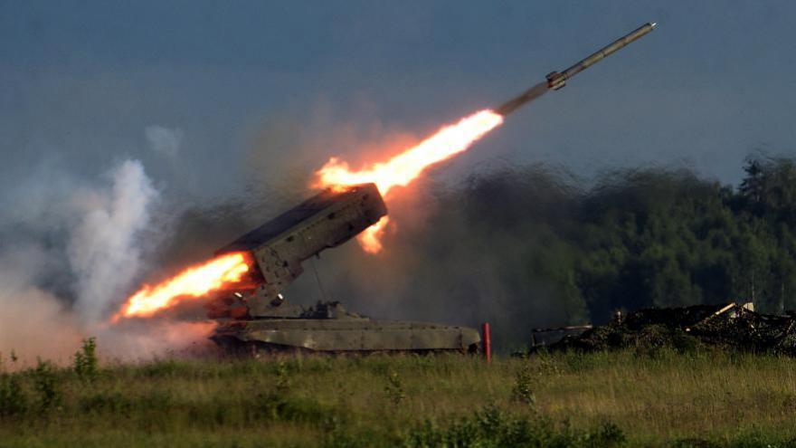 Le nouveau missile russe aura une capacité de 10.000 kilomètres, le mettant en capacité de frapper des villes européennes ou des villes de la côte ouest américaine. Entrée en service prévue pour 2020./ AFP]