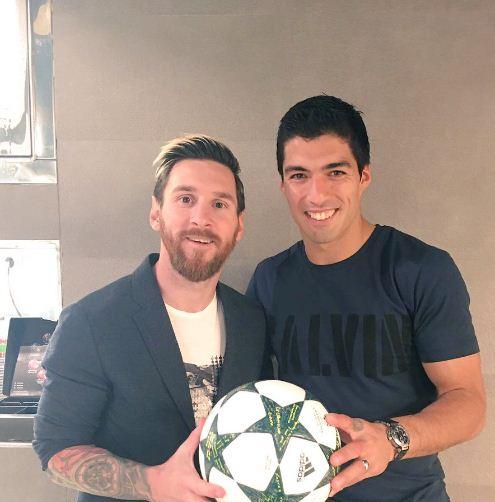 Messi et Souarez