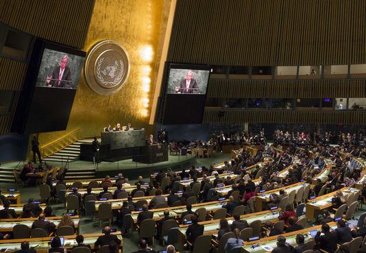 L'Assemblée Générale de l'Onu à New York