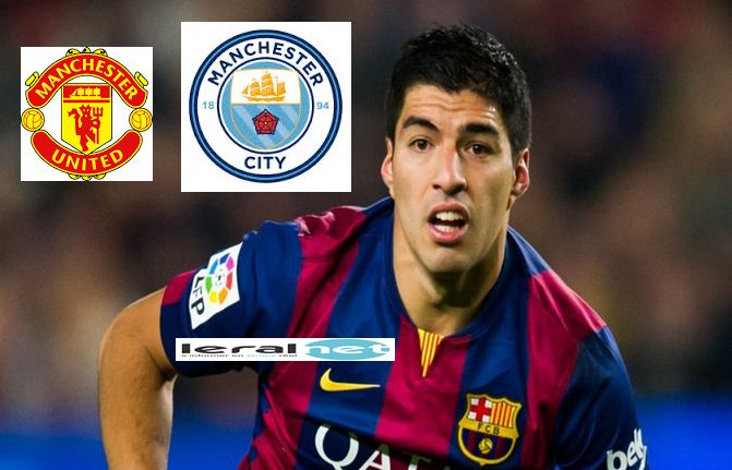 United et City à l'assaut de Luis Suarez courtisé