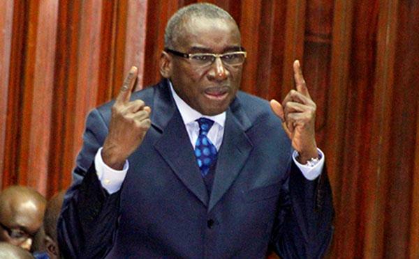 Me Sidiki  Kaba : « Dans les 37 prisons sénégalaises, il y a 9.422 détenus »