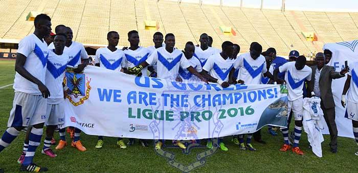 L'US Gorée championne du Sénégal 2016