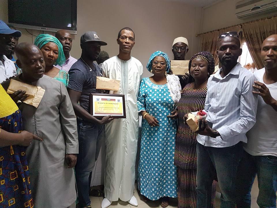 le maire de Dakar-Plateau, Aliou Ndoye s'engage dans le social
