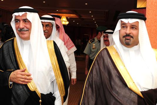Ibrahim ben Abdel Aziz Al-Assaf (à gauche) en 2009.