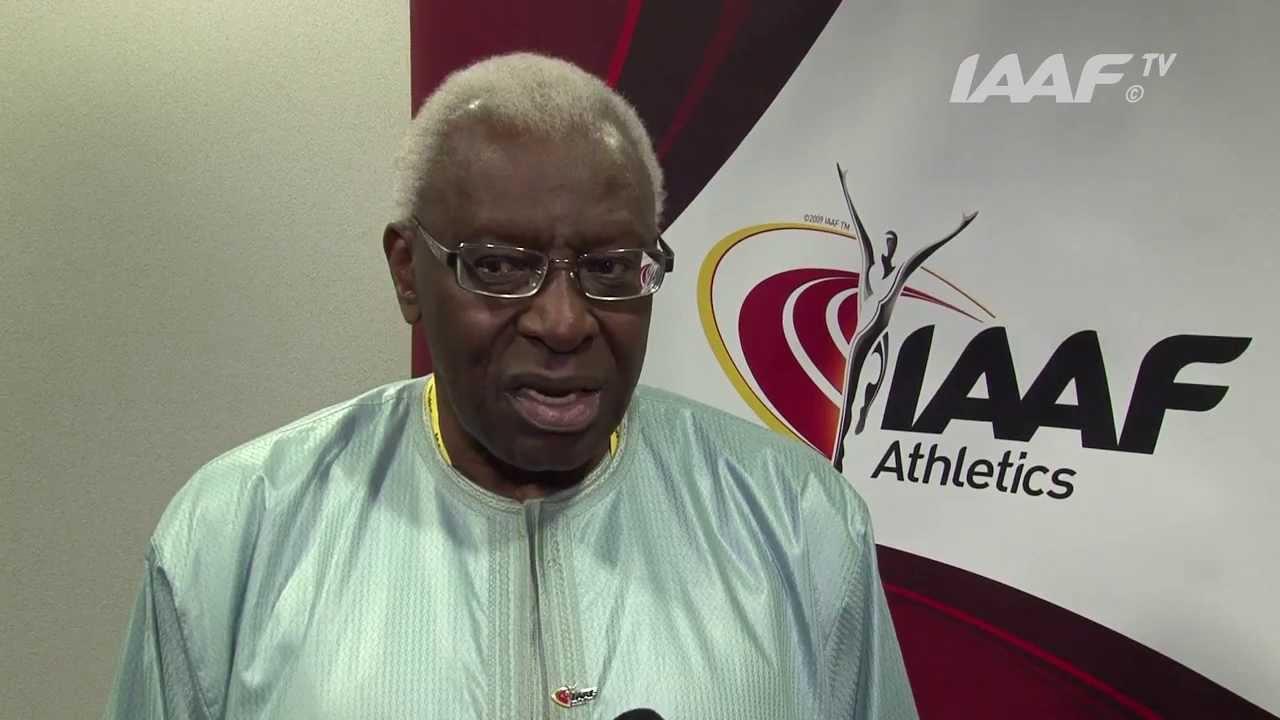 Lamine Diack, ancien président IAAF.