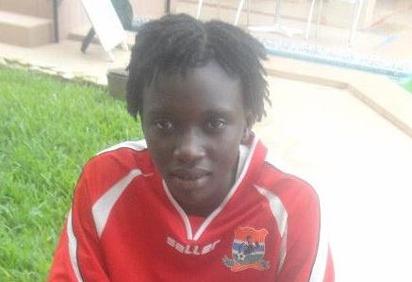 Fatmi Jawara, gardienne de but des U17 de la Gambie