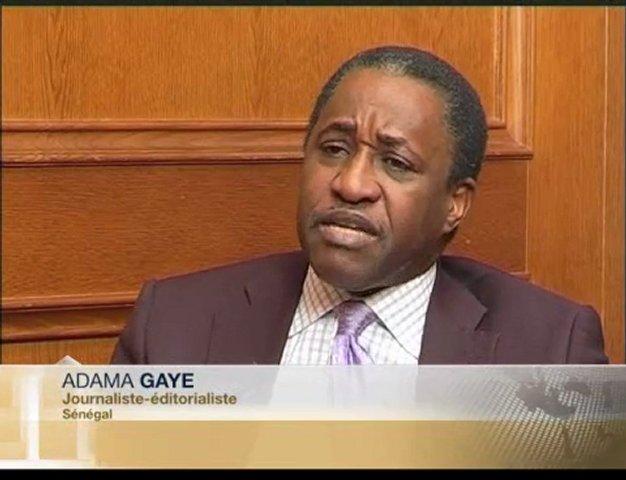 Adama Gaye, journaliste sénégalais.