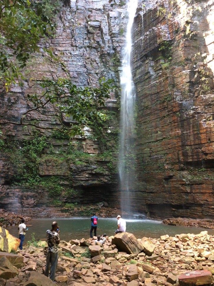 La célèbre cascade de Dindéfelo