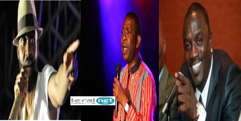 Fally Ipupa, Youssou Ndour et Akon