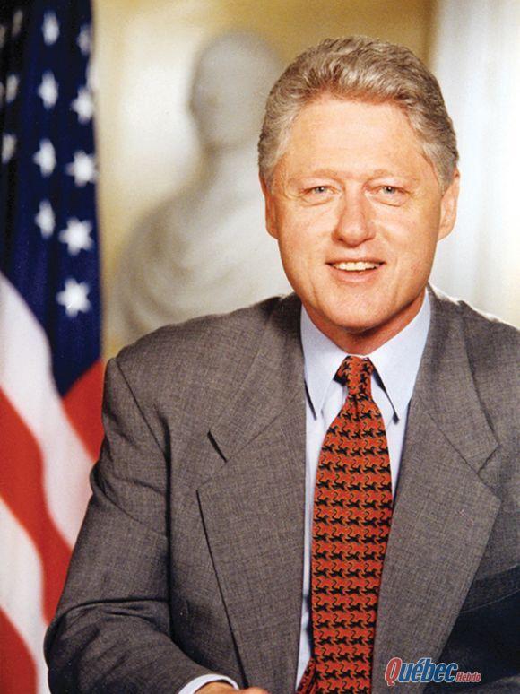 Bill Clinton réelu Président des Etats-Unis le 5 novembre 1996