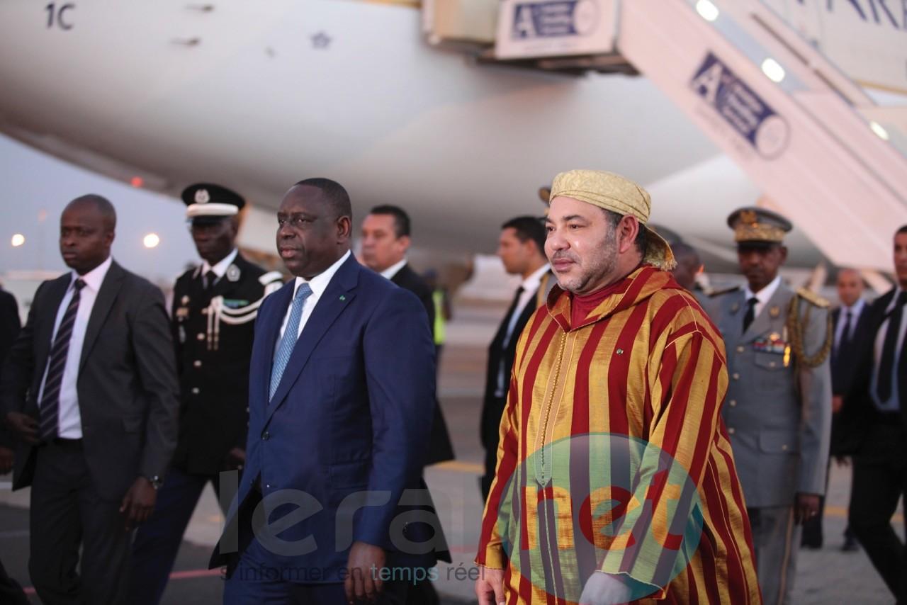 Mohammed VI est arrivé à Dakar pour une visite d'amitié et de travail