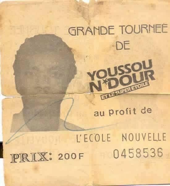 Voici la preuve que la carrière du roi du mbalax, Youssou Ndour s'est faite après des années de labeur!!!