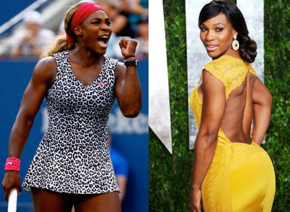 Photos : Sexy Serena Williams, la bombe black qui aurait fait chavirer le coeur de Lewis Hamilton
