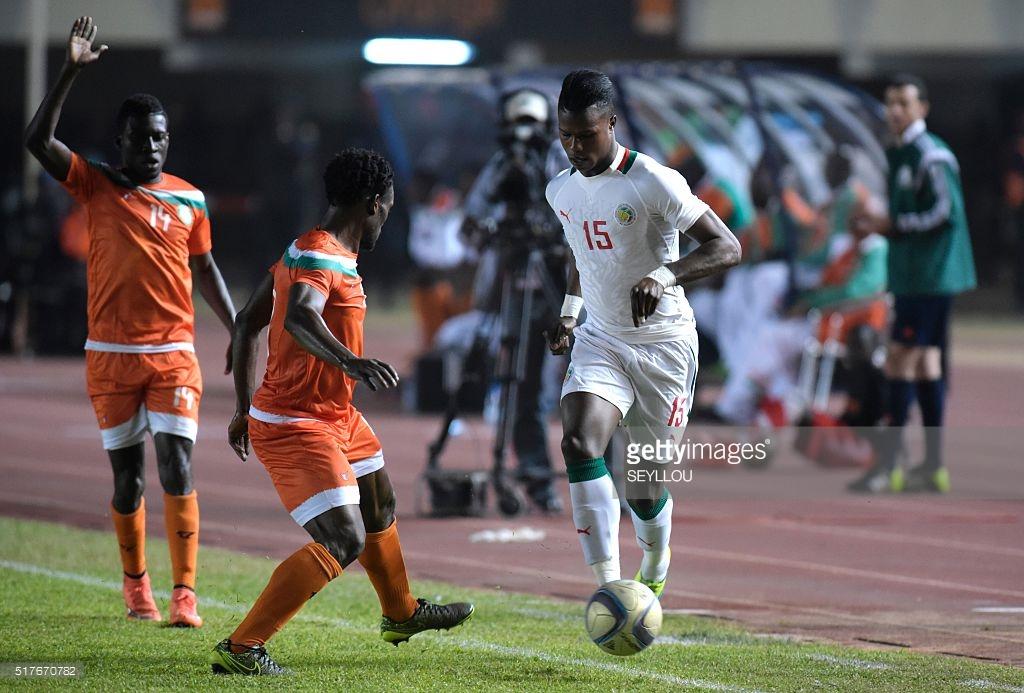 Dia Baldé Keita, ballon pied contre le Burundi.