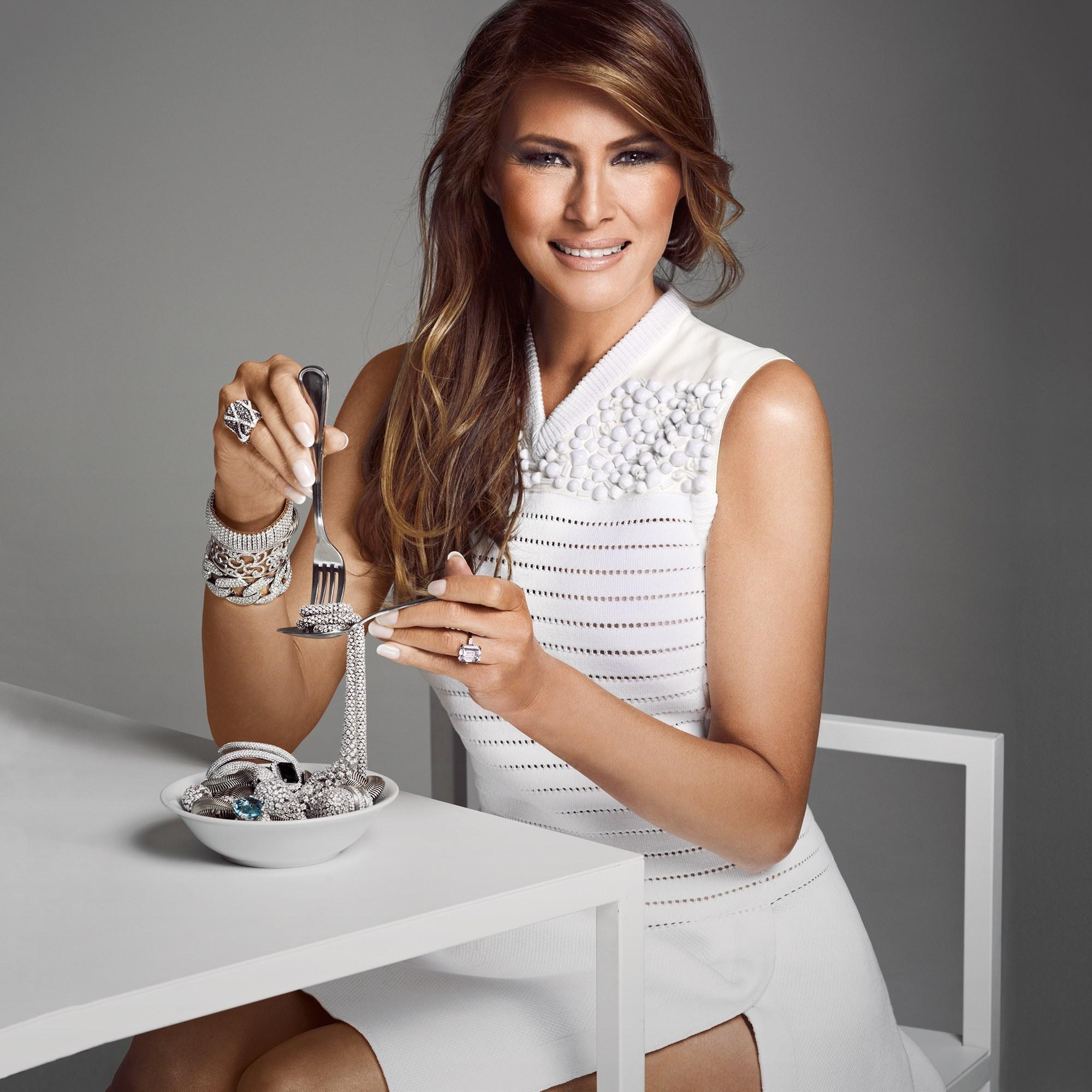 Melania Trump, la First Lady top model, plus belle, plus ...