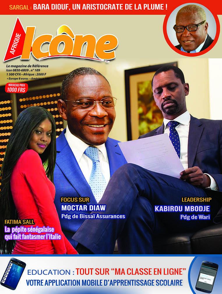 La Une de votre Magazine Icone n°  109