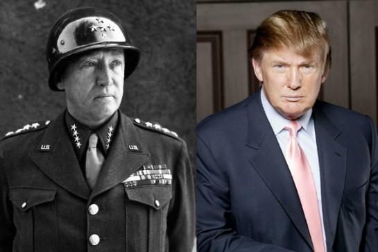 Le sosie parfait de Donald Trump, George Patton (général américain de l'US Army pendant la Seconde Guerre mondiale)