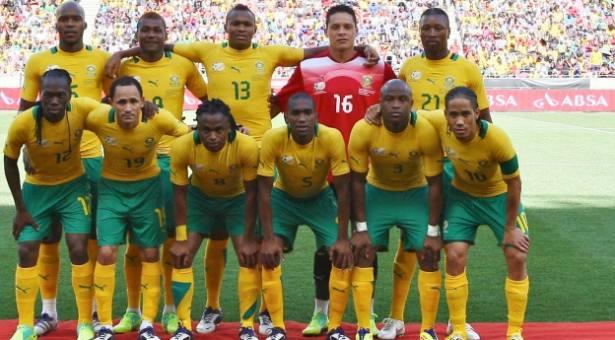 Eliminatoires Mondial Russie 2018: deux joueurs cadres des Sud-Africains déclarent forfait