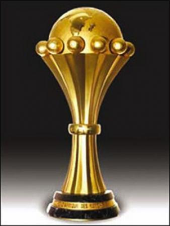 Le trophée de la CAN remis au vainqueur