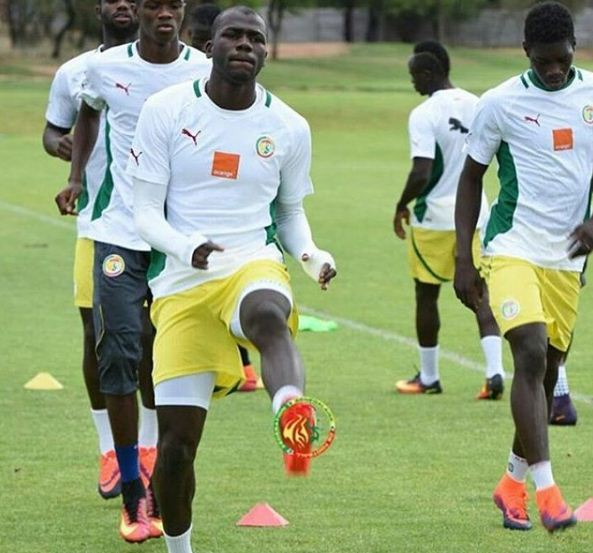 Les Lions du Sénégal dans les derniers moments de préparation, pour faire face aux Bafana Bafanas
