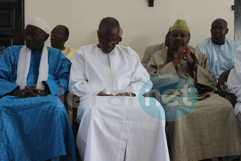 (PHOTOS) La levée du corps de l'artiste-chanteur sénégalais Ndiouga Dieng