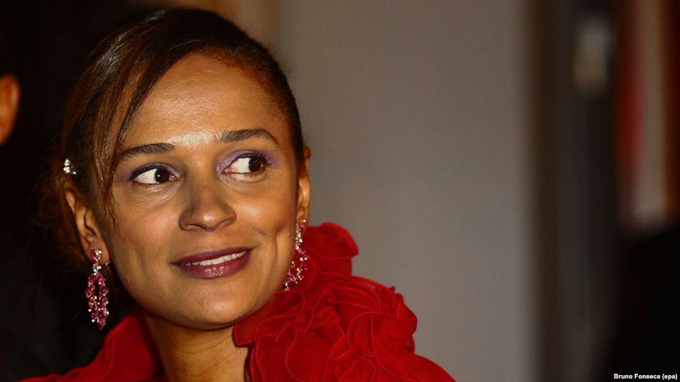 Isabel Dos Santos, la fille de Jose Eduardo Dos Santos, président de l'Angola.