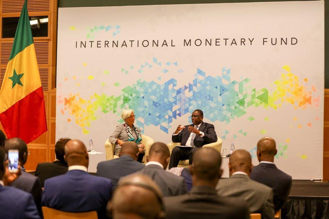 Le Chef de l'Etat Macky Sall s'exprimait devant les 24 membres du Conseil d'administration du FMI