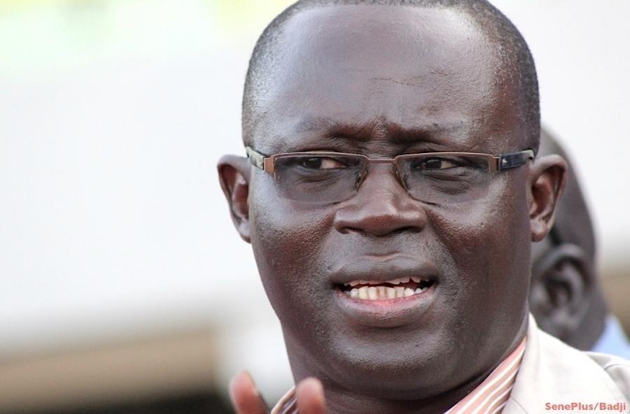 Le président de la Fédération sénégalaise de football, Augustin Senghor