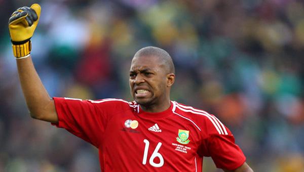"""Sans le football, le gardien des Bafana-Bafana aurait pu devenir  """"gansgter"""""""