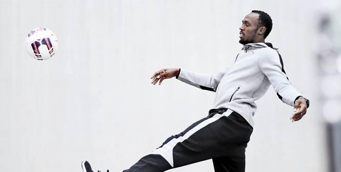 Usain Bolt au ballon