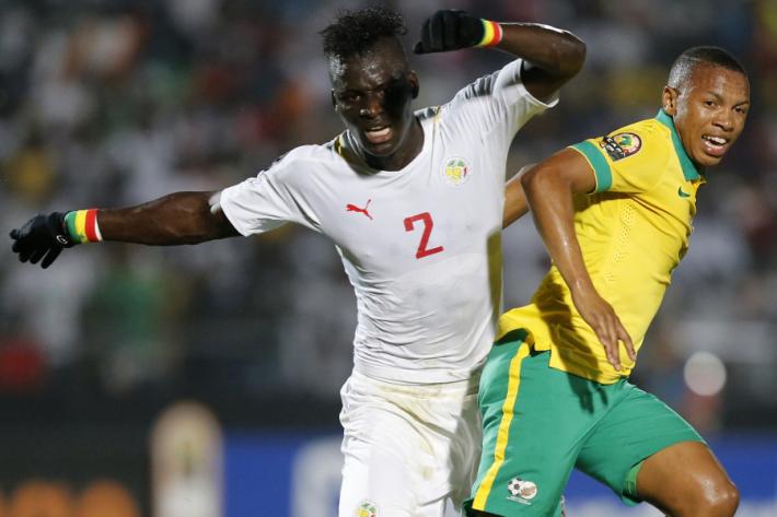 Match de la deuxième journée des éliminatoires de la coupe du monde 2018 opposant le Sénégal et l'Afrique du Sud au Stade Peter-Mokaba, Pietersburg