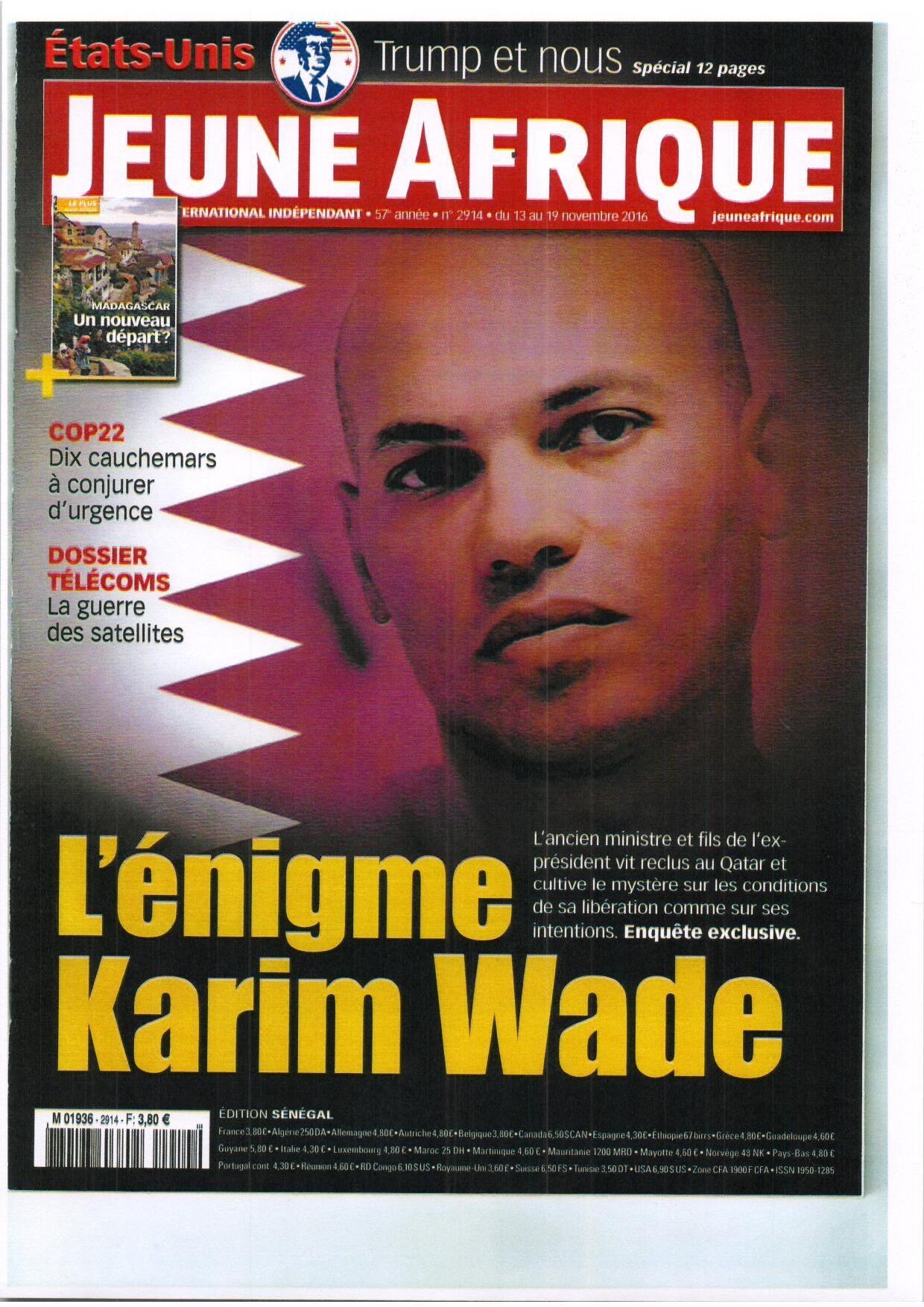 Comment Karim Wade a été libéré  le 24 juin dernier. qu'est ce qui s'est réellement passé?