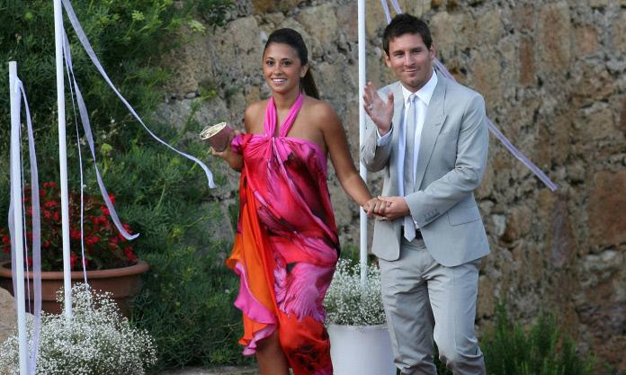 Antonella Roccuzzo et Lionnel Messi