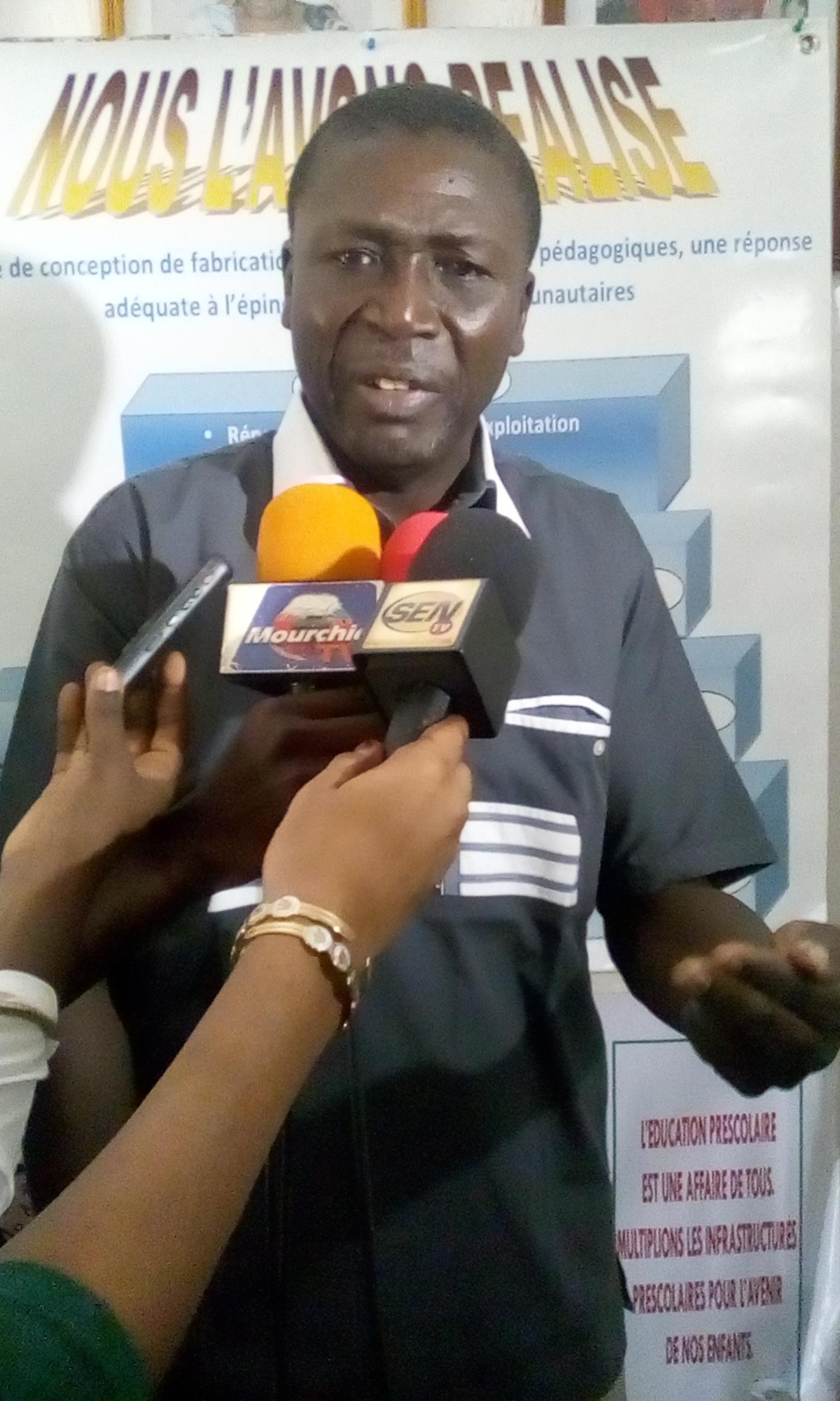 Mama Sow (président du CNDREO) du Sénégal « la CNDREAO est un réseau multi-acteur et multidisciplinaire au service de la réalisation des objectifs de l'éducation de qualité »