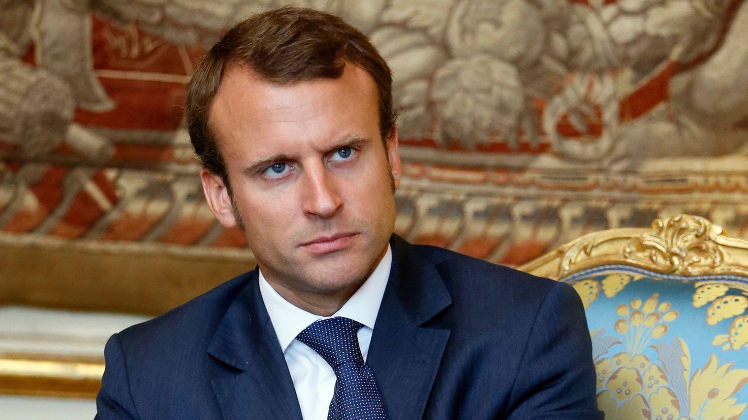 France : Emmanuel Macron, âgé de 38 ans se présente à l'élection présidentielle de 2017