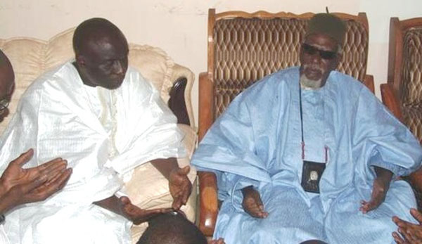 Idrissa Seck à Touba (images archives).