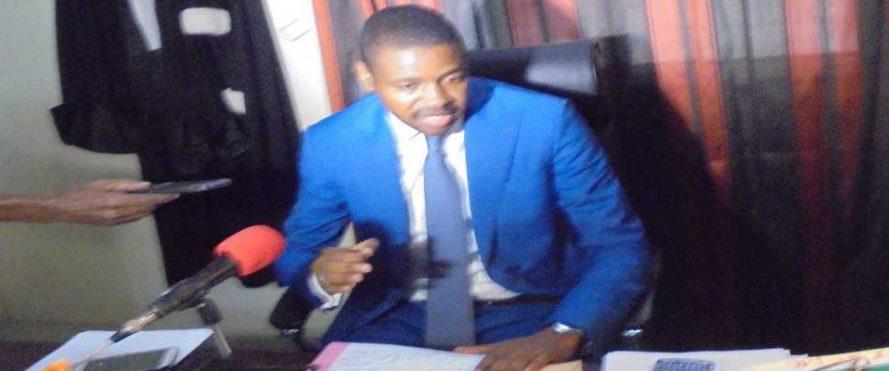 Yoro Moussa Diallo, procureur de Kolda, lors d'une conférence de presse lundi