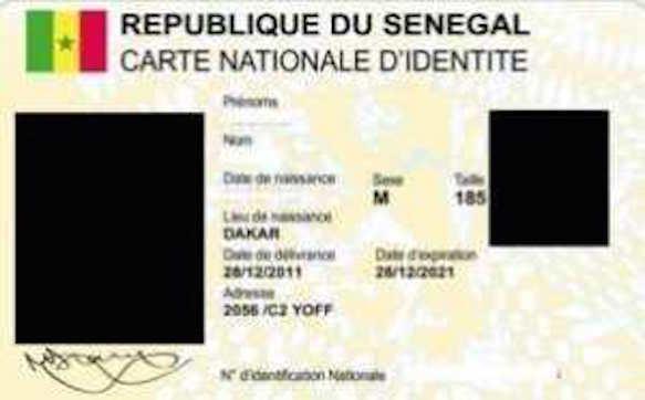 Confection de la carte d'identité biométrique de la CEDEAO : les Sénégalais expriment leurs craintes