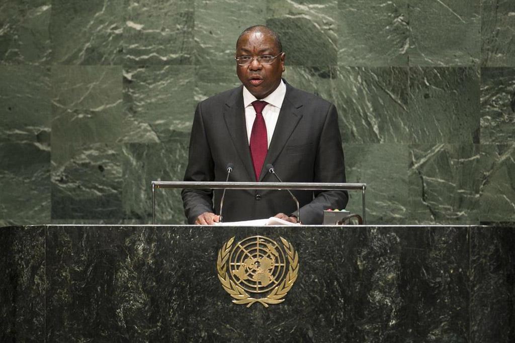 Mankeur Ndiaye, sur la coopération entre les Nations Unies et les organisations régionale et sous régionale, le 18 Novembre 2016.