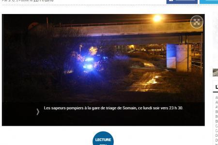 Une jeune fille de 15 ans se jette d'un pont à Semain, sous les yeux des policiers