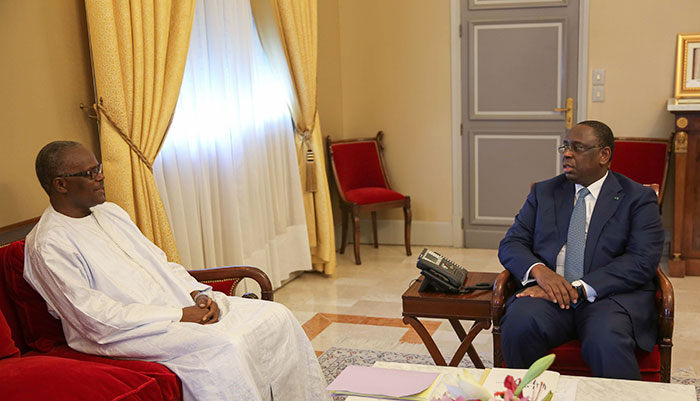 Ousmane Tanor Dieng, qui s'est entretenu mardi avec le chef de l'Etat, a fait part de sa détermination à réussir sa mission.