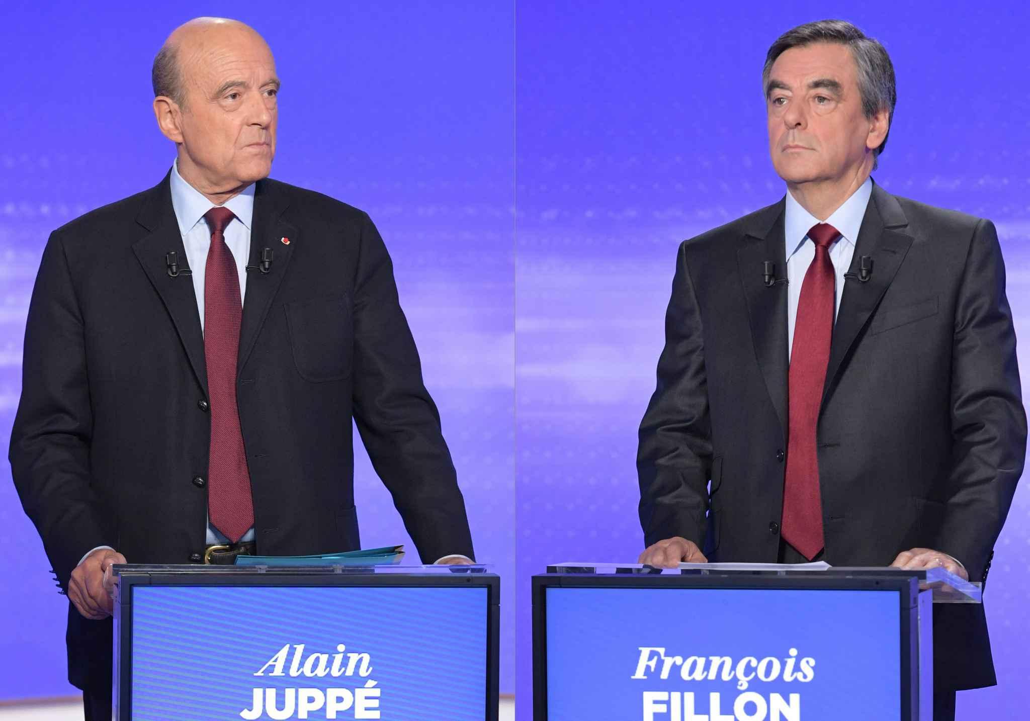 Primaires de la droite: Alain Juppé cogne, François Fillon esquive et répond