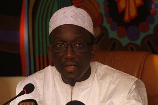Le ministre de l'Economie, des Finances et du Plan, Amadou Bâ