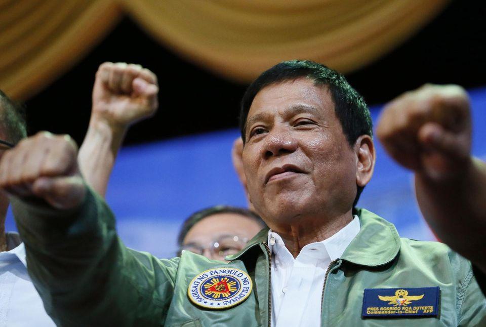 Rodrigo Duterte, le président des Philippines