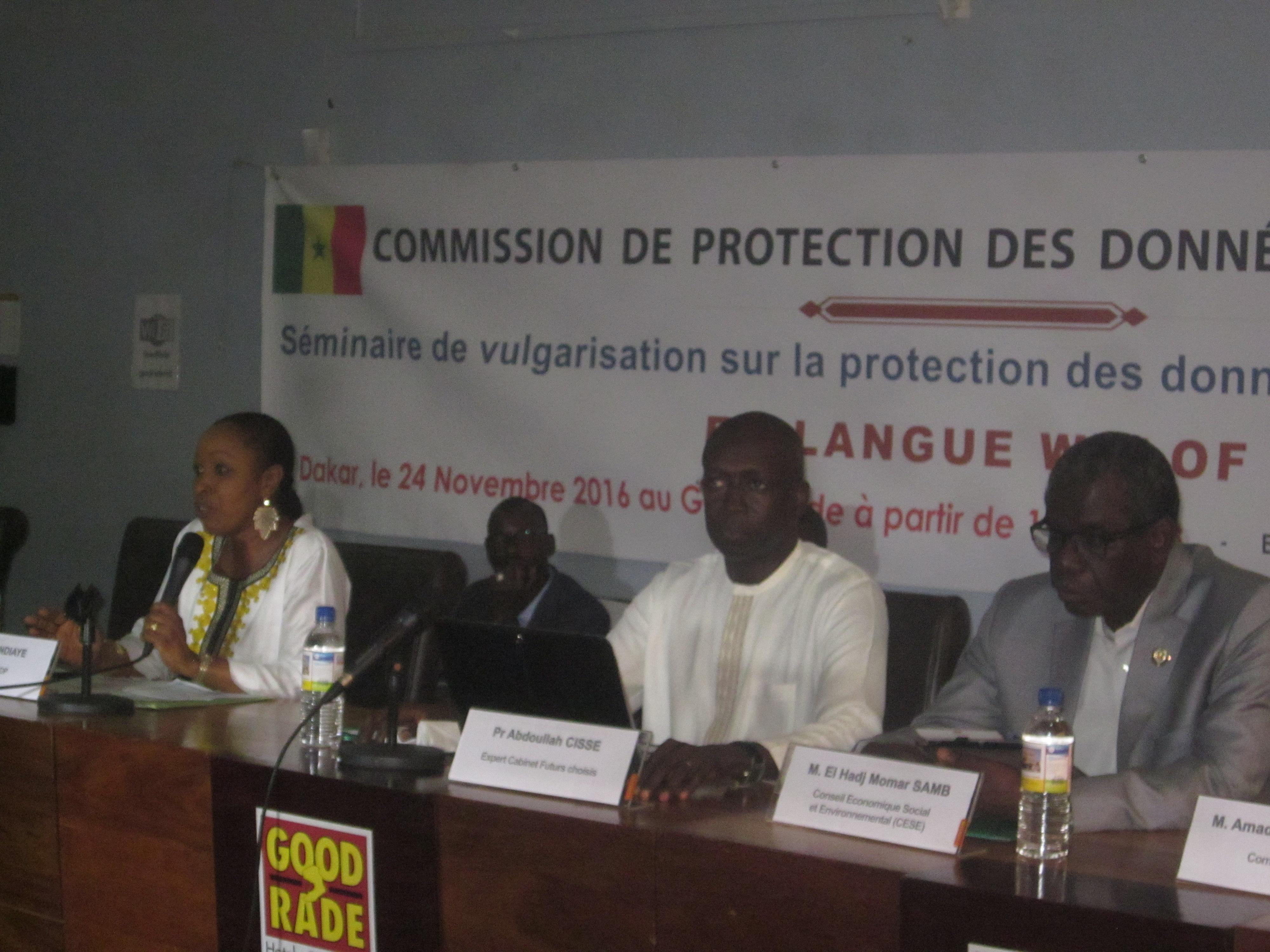 Awa Ndiaye, la présidente commission de la protection des données personnelles (CDP)